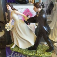 Baker Delight Porcelain Wedding Cake Toppers 3