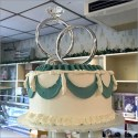Giant Engagement Ring As BakeryProp