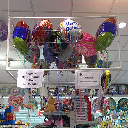 Inflatable Dragon Guards The Store For Halloween Jpg 396x396 Dollar Tree Balloons