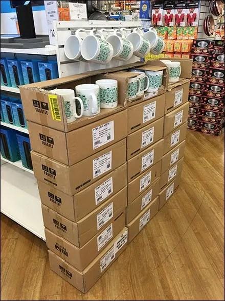 Cups Sold By 90º Tip Slatwall Hooks 1
