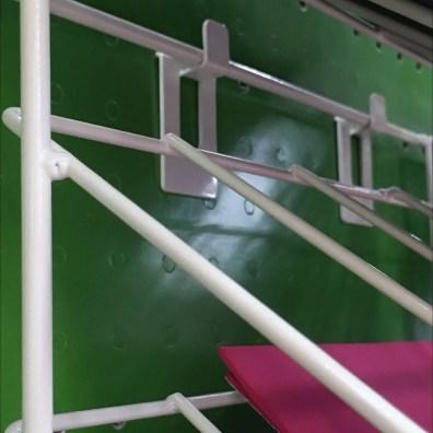 Declined Foam Sheet Rack Pin-Up Hook 2