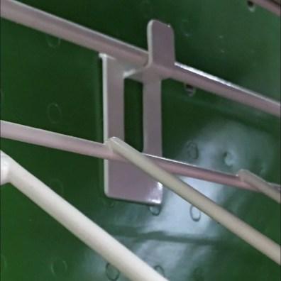 Declined Foam Sheet Rack Pin-Up Hook 3