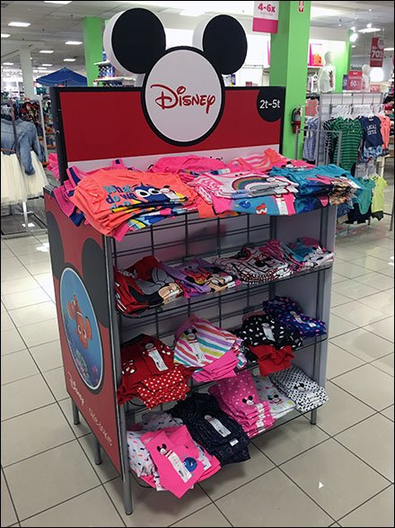 Disney T-Shirt Display Is All Ears