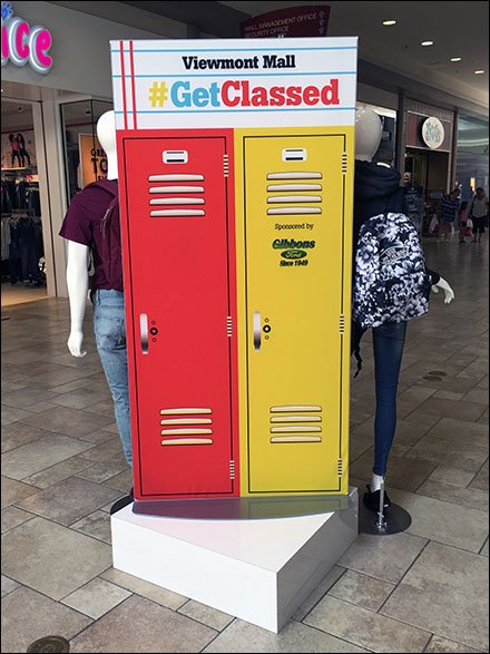 #GetClassed Back-To-School Mall Lockers