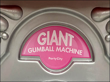 Giant Gumball Machine Logo