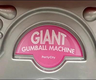 Giant Gumball Machine Logo