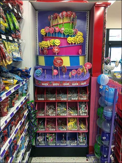 Lollipop Tower Display 1