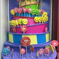 Bas Relief Lollipop Tower Features Bulk Bins