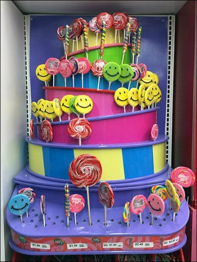 Lollipop Tower Display 2