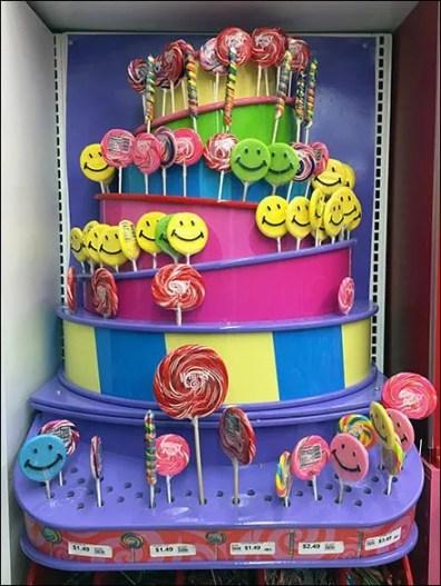 Bas Relief Lollipop Tower Features Bulk Bins