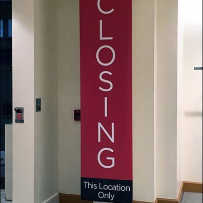 Macys Store Closing Vertical Signs 1