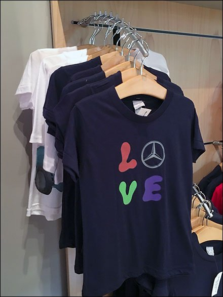 Mercedes Benz Manhattan Kiddie T-Shirt Faceout