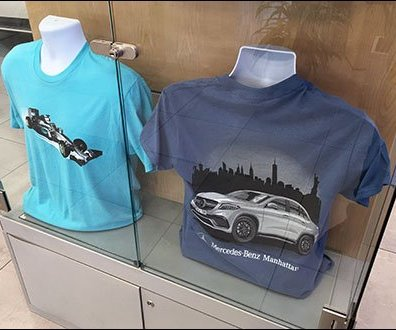 Mercedes Benz Manhattan T-Shirt Main