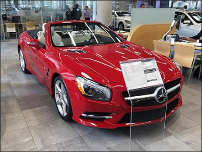 Mercedes Manhattan Summer Special 1