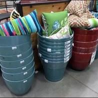 Patio Furniture Pillow Planter Display Main