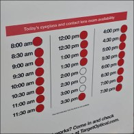 Schedule Youe Eye Exam At The Door Feature