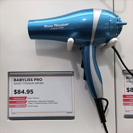How To Choose A Pistol Grip Hair Dryer From An In-Store Array