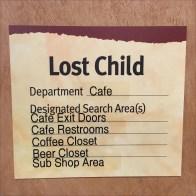 Lost Child Search Protocol Checklist