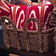 Wicker Basket Pillow Presentation Feature 1