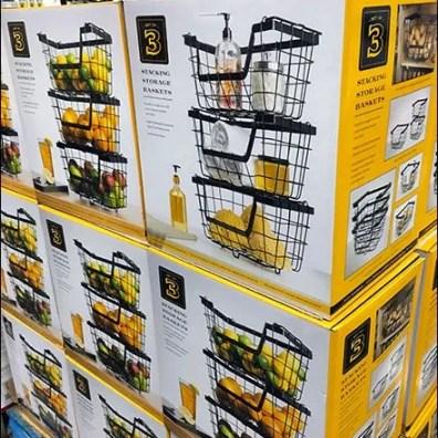 Wire Basket Pallet Merchandising 2