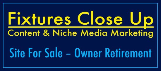FixturesCloseUp Site for Sales Owner Retirement