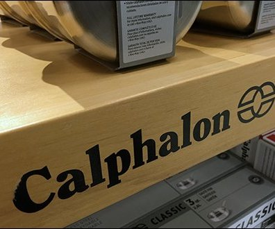 Calphalon Cookware Branded Butcher Block Outfitting