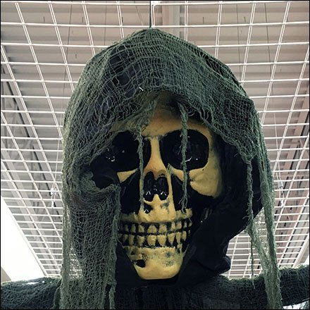 Halloween Ghoul Ceiling Grid Suspension System