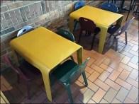 Restaurant Children's-Size Dining Area