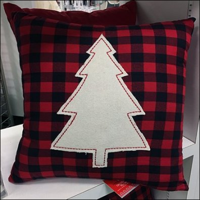 Famous Christmas Tag Line Promote Pillow Sales At Macys