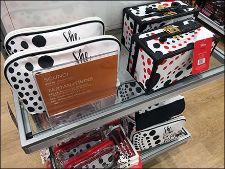 Ulta Beauty Disney Life Endcap Dots