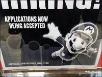 High-Flying Mario Brothers Now Hiring At GameStop