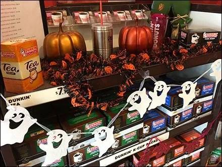 Halloween Ghosts Keurig Coffee Break