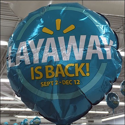 Layaway Is Back Inflatable