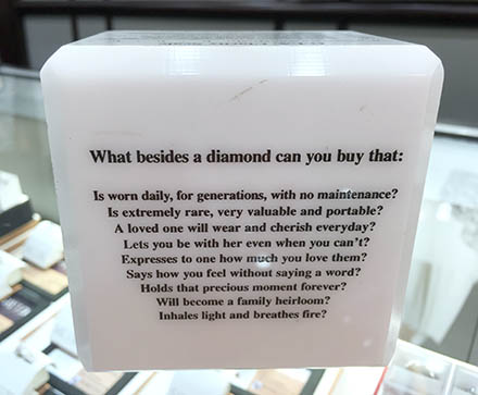 How To Sell Diamonds G.I.A. Cubic Crib Sheet