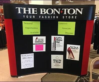 Bon Ton Fashion Hiring Exhibit
