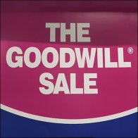 Bon Ton Goodwill Sale Display Logo
