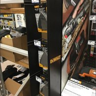 DeWalt Mini PowerWing Strip Merchandiser