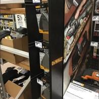 DeWalt Mini PowerWing Strip Merchandiser