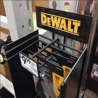 DeWalt Mini-PowerWing Strip Merchandiser