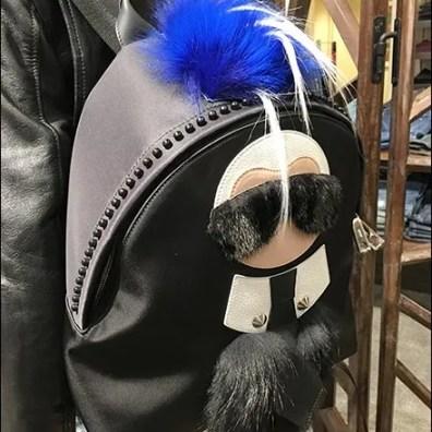 Karlito Backpack As Fendi Attention Compeller