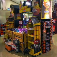 Trick-or-Treat-Central Halloween Candy Display