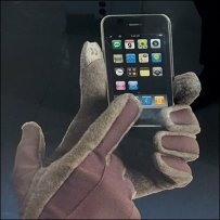 Smart Touch Glove Display Pitches Isotoner