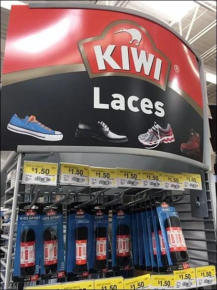 How To Hook A Kiwi Shoe Lace Display