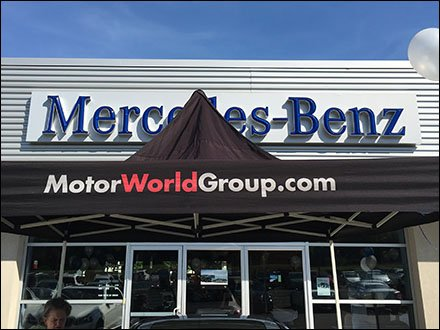 CASE STUDY: How to Host Mercedes-Benz Tent Sale