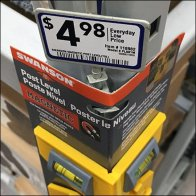 Right-Angle Strip Merchandiser for Pallet Rack