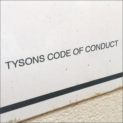 Tysons Mall Code of Content No Smoking Here
