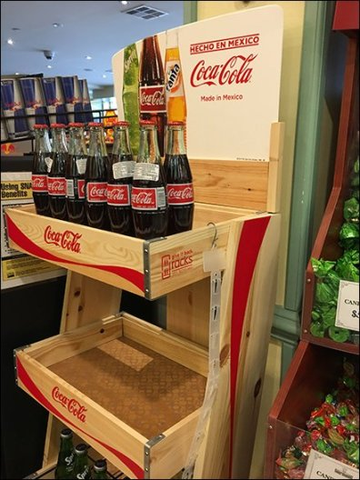 Recyclable Wood Display