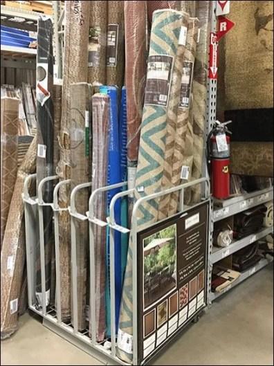 Gated-Front, Carpet Rack Dividers