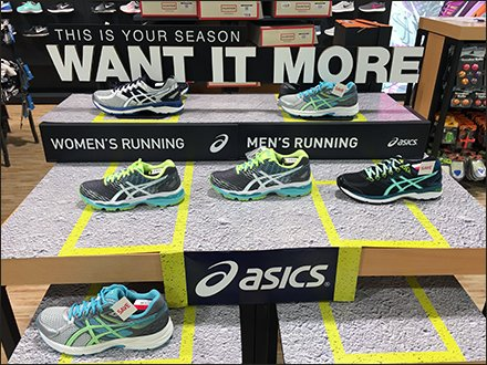 Asics Want It More Tiered Tables