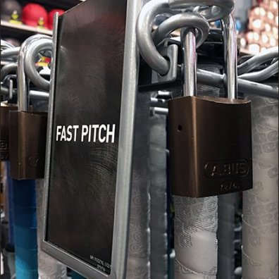 Lock-down for Fast Pitch Baseball Bats